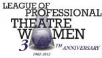 League of Professional Theatre Women 30th Anniversary logo