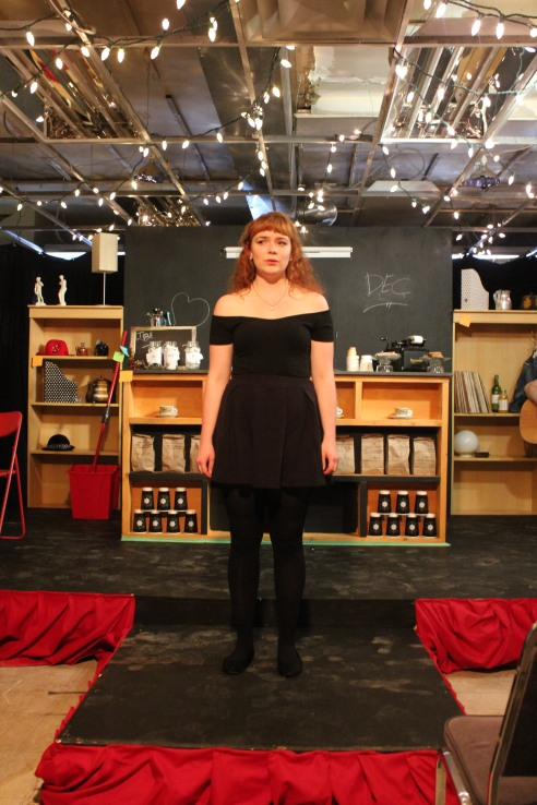 Confessions of a Redheaded Coffeeshop Girl featuring Rebecca Perry Photo credit Bryan Zilyuk